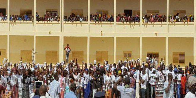 Infrastructures scolaires Sinthiou Bamambé, commune située dans la région de Matam, étrenne son nouveau lycée