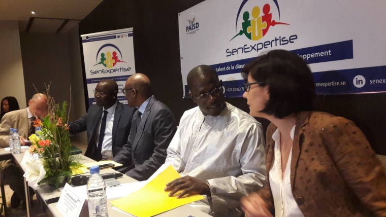 2 mai 2019 Atelier de présentation du dispositif de mobilisation des experts hautement qualifiés et des jeunes Volontaires de Solidarité pour le Développement issus de la diaspora sénégalaise