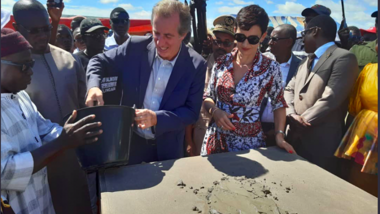 16 juillet 2019 – Cérémonies de pose de première pierre en région de Kolda (Poste de santé Némataba et extension lycée Vélingara)