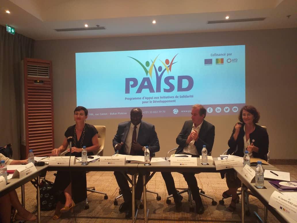 Jeudi 11 juillet 2019 – Réunion du Premier Comité de Pilotage du Programme d'Appui aux Initiatives de Solidarité pour le Développement (PAISD III)