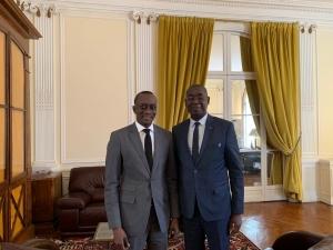 visite ambassadeur du Sénégal en France