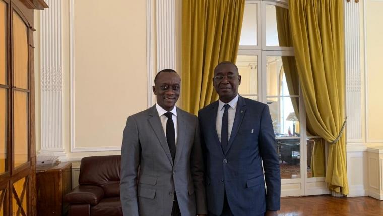 23 septembre 2019 visite de courtoisie à l'ambassade du Sénégal en France