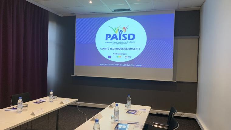 Mercredi 5 février, tenue du 3 ème Comité Technique de Suivi du PAISD III